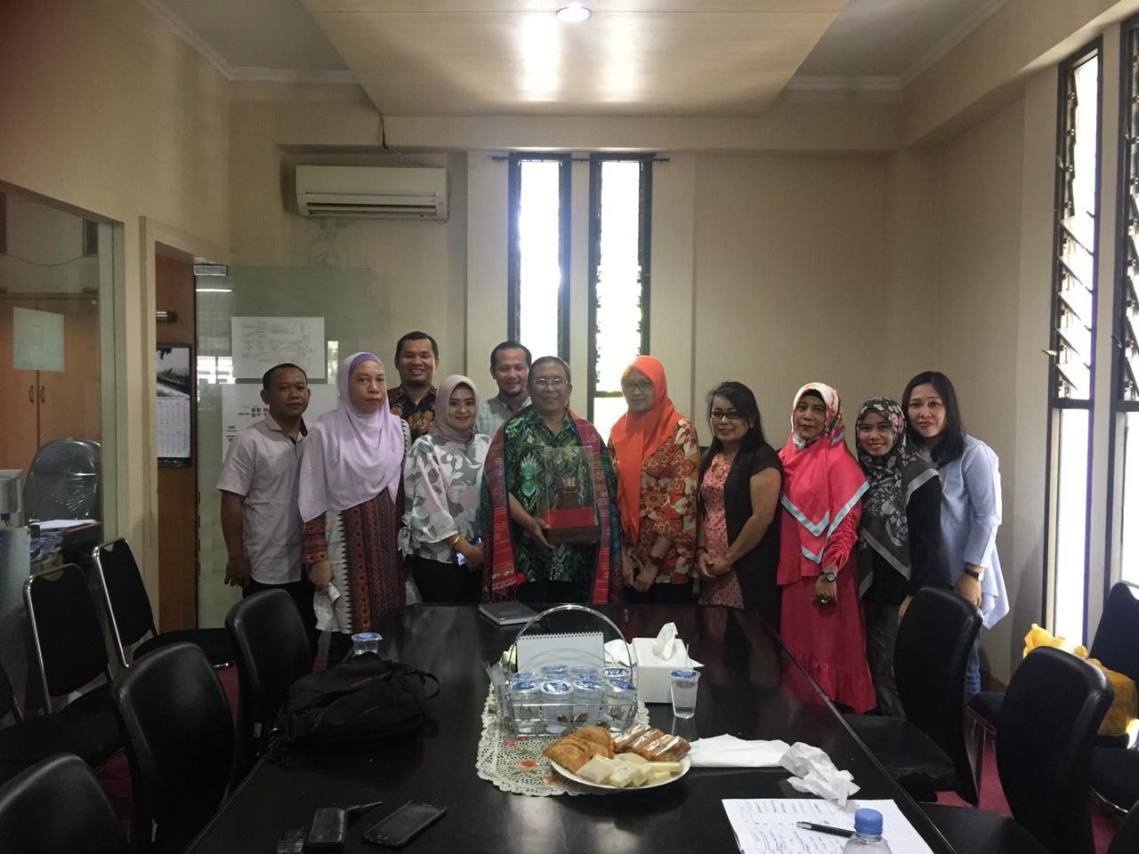 Preview Bagian Hukum menerima kunjungan kerja Biro Hukum Pemprov Sumatera Utara, 28 Juni 2019