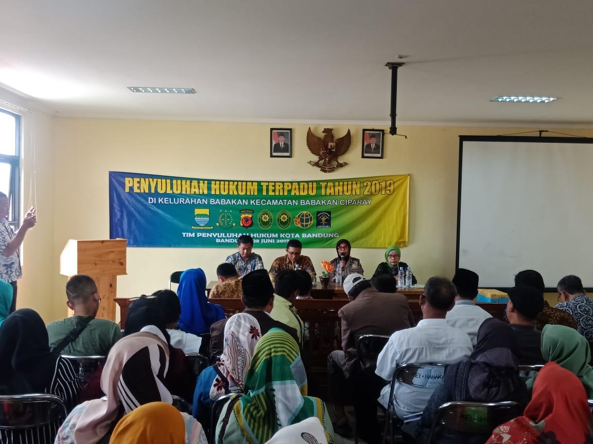 Preview Bagian Hukum melakukan Penyuluhan Hukum Terpadu di Kel.Babakan Ciparay Kec. Babakan Ciparay, 28 Juni 2019
