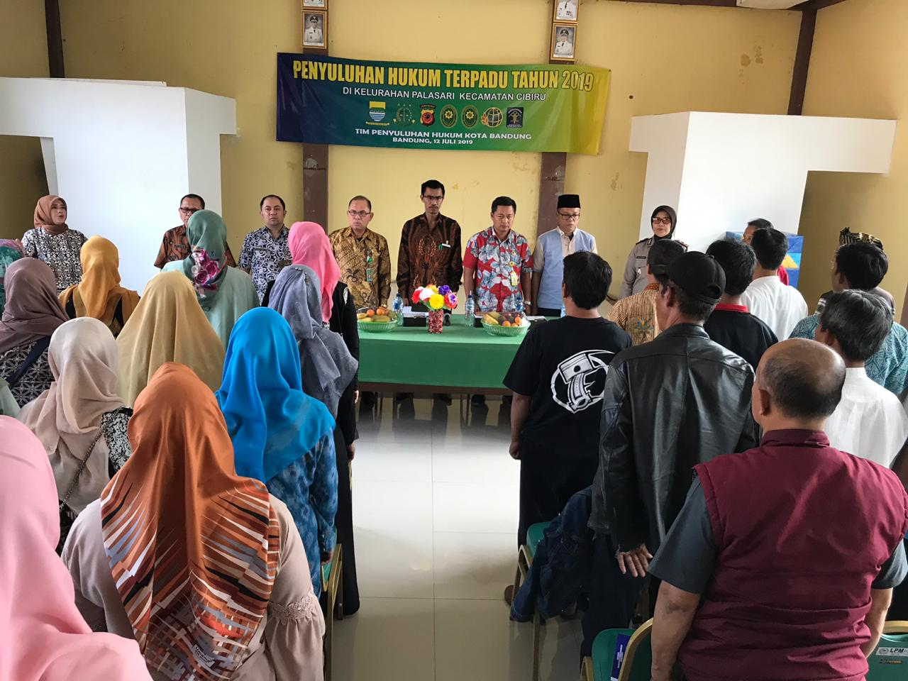 Preview PENYULUHAN HUKUM TERPADU TAHUN 2019 DI KELURAHAN PALASARI KECAMATAN CIBIRU, 12 JULI 2019