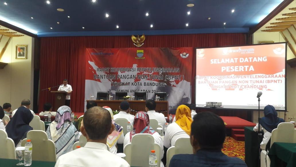 Preview RAPAT KOORDINASI PENYELENGGARAAN BPNT TINGKAT KOTA BANDUNG. SELASA, 27 AGUSUTUS 2019.