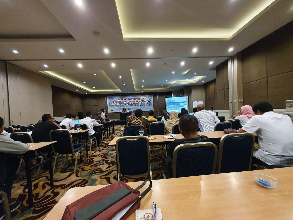 Preview PENERAPAN PERATURAN PERUNDANG-UNDANGAN BIDANG CIPTA KARYA. RABU, 28 AGUSTUS 2019.