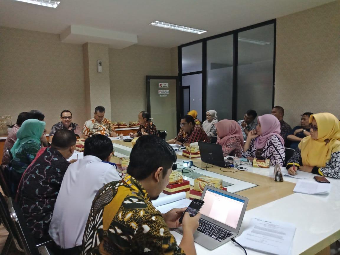 Preview Kegiatan Evaluasi Implementasi Terbitnya Peraturan Pemerintah Nomor 24 Tahun 2018 tentang Pelayanan Perizinan Berusaha Terintegrasi Electronic (Online Single Submissions) di Kota Bandung.